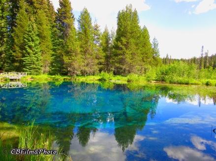 Little Crater Lake, Mt Hood